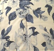 RALPH LAUREN JULIANNE MAGNOLIA FLORAL BLUE AND WHITE COMFORTER SET-KING OR QUEEN