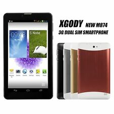7'' Dual Core Unlocked Smart 3G Dual Sim Cell Phone Android 4.2 HD Tablet Colors