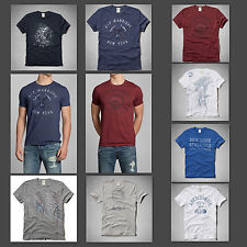 NEW Abercrombie & Fitch A&F Men Woodsfall Trail Tee & Wolf Pond Tee T Shirt