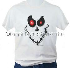 GHOST FACE Spooky Scary Halloween T Shirt Sizes up to 5XL