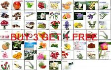 50+ PURE AROMA THERAPEUTIC FRAGRANCE  ESSENTIAL OILS  5 ML OIL BUY 3 GET 1 FREE