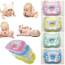 Newborn Infant Soft Neck Support Print Bear Head Shape Baby Shaping Pillow