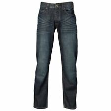 Mens Republic Button Fly Denim Whisker Jean .. Casual Pant .. RRP $109.95