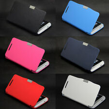 Deluxe Magnetic Pu Leather Flip Hard Skin Case Cover For HTC One M7