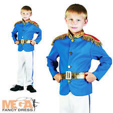 Prince Charming Kids Uniform Fancy Dress Prince William Costume Outfit NEW