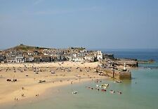 001 St Ives Cornwall England - Photo Prints A4 A3 or CANVAS