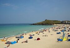002 St Ives Cornwall England - Photo Prints A4 A3 or CANVAS