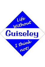 Guiseley Car/window signs / Personalised signs / flexible magnets