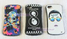 Cute glossy Mastermind hard rubber extra bumper case cover skin iPhone 4/4s