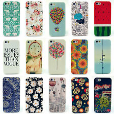 New Paint Pattern Phone Hard Back Skin Case Cover for Apple iPhone 4 4S 5 5S