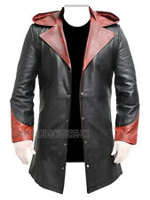 Devil May Cry DMC - 5 Dante Men's Long Leather Trench Coat