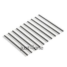 10/4/2PCS a Set 40Pin 1/ 2 Rows Straight/ Angle Female/ Male Pin Header&Strip