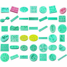 3D Silicone Clay Soap Mould Sugarcraft Fondant Cake Pastry Cookie Decorating Set