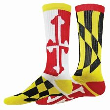 Red Lion Maryland Flag Crew Sock