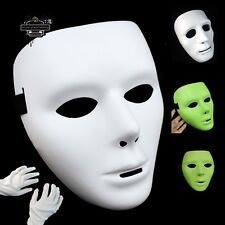 Cool Dancer Jabbawockeez Masquerade Party Mysterious Mask with Free White Gloves