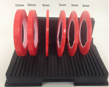 Red Double Sided Adhesive Tape Sticker for Mobile iPhone 4S 5 5S 2/3/5/6/10/12MM