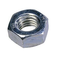 ZINC PLATED PLAIN HEX NUTS TO FIT OUR ZINC PLATED BOLTS AND SCREWS