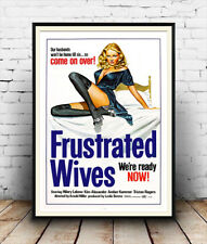 Frustrated Wives : Film Poster reproduction
