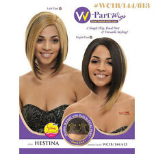 Janet Collection Synthetic Lace W (Dual) Part Wig - Hestina