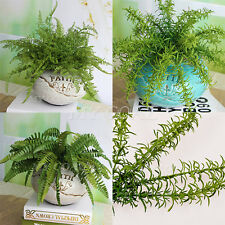 Boston Fern Fake Plant Artificial Leave Foliage Home Party Office Decor