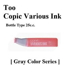 NEW Too Copic Marker Various Ink Refills [ Gray Color Series ] F/S Japan manga