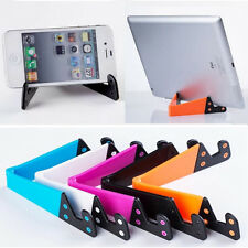 Desktop Tablet PC Foldable Universal Phone Mobile Holder Stand Mount Cradle New