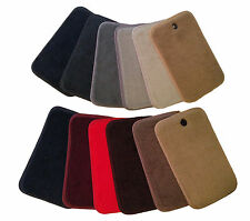 Carpet Velourtex Small Deck Mat Floor Mat for Porsche 911 #V5326