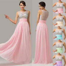 Twinkling Beads Sleeveless Sexy Formal Gown Long Evening Prom Party Dress JS Hot