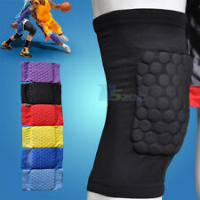 Kids Child Honeycomb Foam Pad Anticrash Sport Basketball Leg Knee Short Sleeve