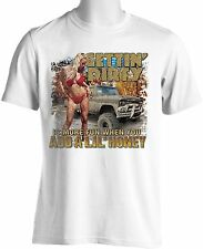 Party Down South Muddin Trucking T-shirts Free Shipping Mens S to 3XL Big & Tall