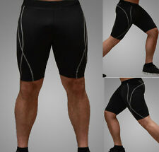 New Mens Compression Under Base Layer Shorts Pants Tight Sports Gear
