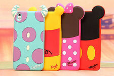 Newest 3D Cartoon disney Shadow skin cover for HTC Desire 610/816 silicone case