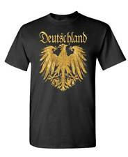 DEUTSCHLAND GERMAN EAGLE T-SHIRT Tee shirt germany golden eagle