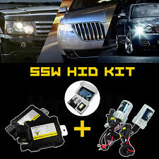 Xenon HID Kit Car Headlight Slim Ballast 55W H1/H3/H4/H7/H11/9004/9005/9006/9007