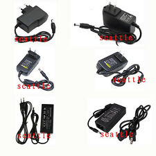 AC 100-240V to 12V 1A 2A 5A 8A Power Supply Adapter for CCTV 3528 5050 Led Strip