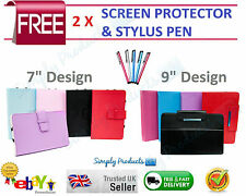 NEW Leather Case Cover Stand for 7inch & 9inch Tablet PC CNM MID PAD APAD EPAD
