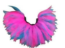 Neon Tutu Skirt Pink Blue 80s Fancy Dress Hen Party COSTUME FUN RUN UV NIGHT OUT
