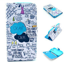 The Fault In Our Stars Okay Filp Leather Case Stand Cover For Samsung Apple LG