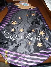 PRET 'A PAW   CAST A SPELL WITCHES CAPE DOG COSTUME, NEW, 3 SIZES AVAILABLE