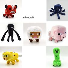 Jazwares Game Minecraft Enderman Creeper Pig Animals Soft Plush Toy Doll 1PCS