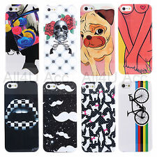 Painted Pattern Phone Hard Back Skin Case Cover For IPhone 5 5S - Nail Polish