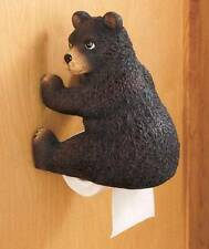 Woodland Lodge Booty Wall Mount Toilet Tissue Paper Holder Deer Bear or Pig NEW