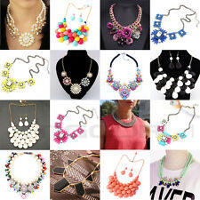 FASHION CHARM WOMEN JEWELRY NECKLACE CHOKER STATEMENT PENDANT COLLAR CHAIN GIFT