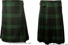 Great Gift: 5 Yard Men's Party Kilt Polyviscose Black Watch - Various Sizes