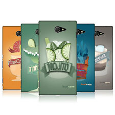 HEAD CASE DESIGNS MIXED DRINKS CASE COVER FOR SONY XPERIA M2