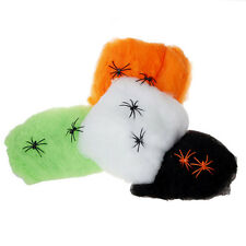 5 Colour Hot Stretchable SPIDER WEB Decoration for Halloween Props HG-1141