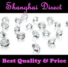 10,000 New Clear Crystal Diamond Wedding Table Scatter Decoration Confetti Gems