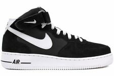 Nike Air Force 1 Mid 07 315123 020 New Men Black White Athletic Basketball Shoes