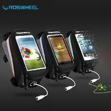 Roswheel Bike Cycle Bicycle Frame Pannier Front Tube Bag Holder for Mobile Phone