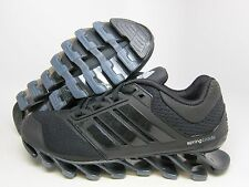NEW ADIDAS YOUTH SPRINGBLADE DRIVE JR RUNNING [C75967]  BLACK//ONIX-MET SILVER
